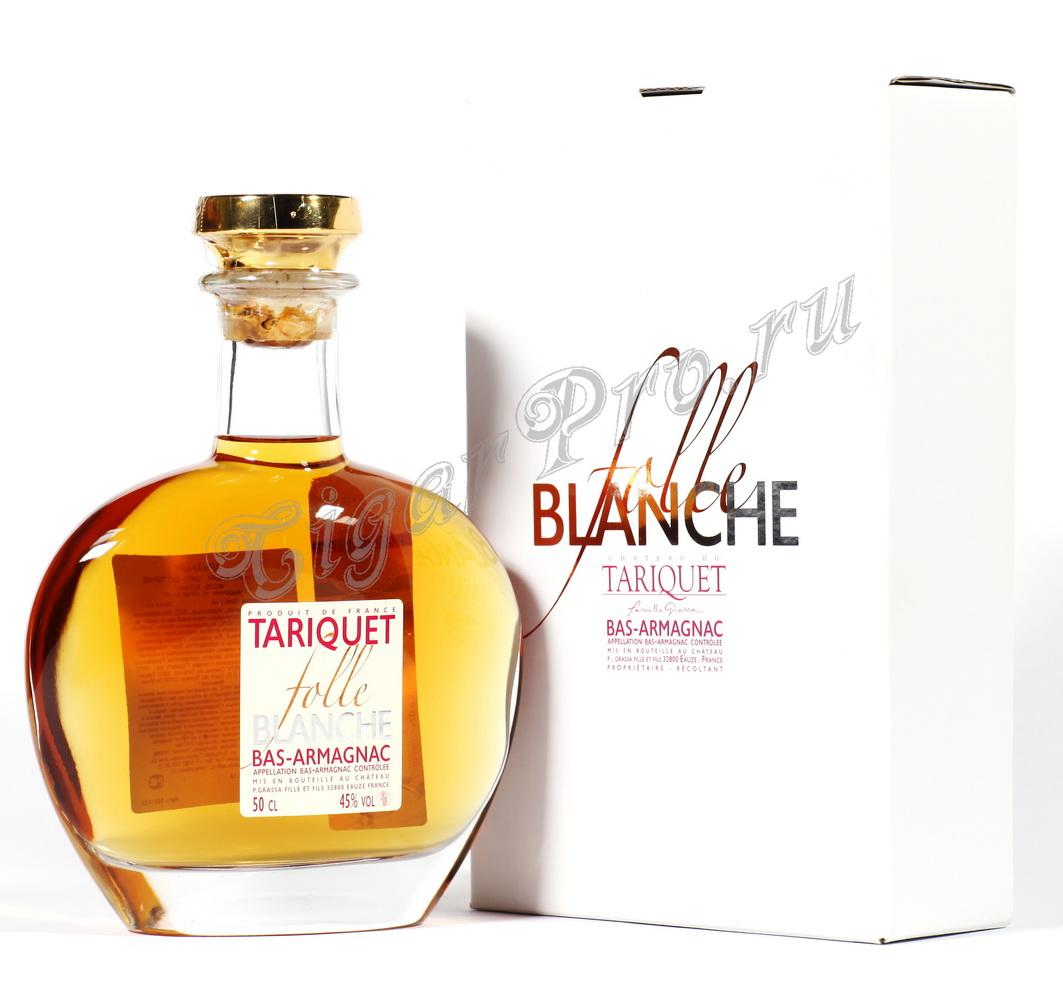Chateau du Tariquet Folle Bianche 3 years арманьяк Шато дю Тарике Фоль Бланш 3 года