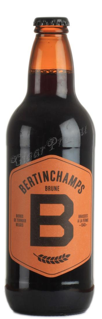 Bertinchamps Brune пиво Бертинчампс Брюн темное