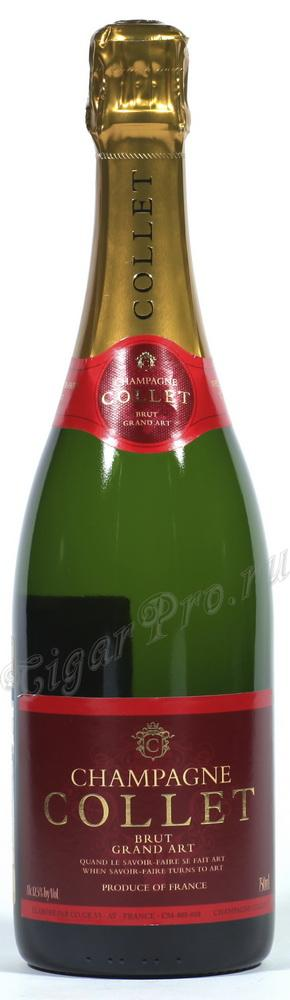 Raoul Collet Brut Grand Art Шампанское Рауль Колле Брют Гранд Арт