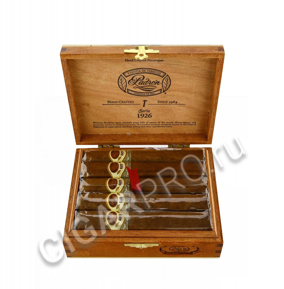 Сигары Padron 1926 Serie №9 Natural