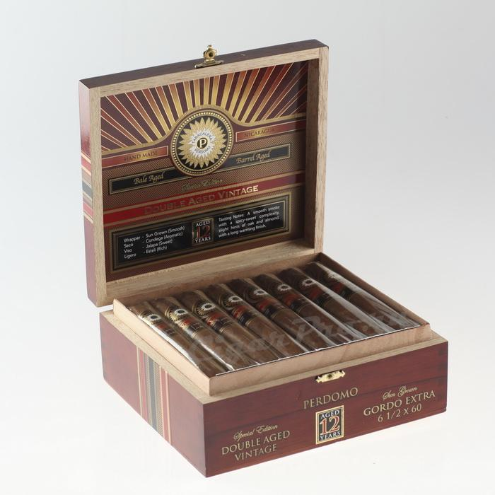 Perdomo Double Aged 12 Year Vintage Sun Grown Gordo