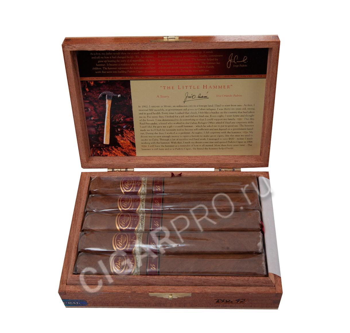 Сигары Padron Family Reserve №45 Natural