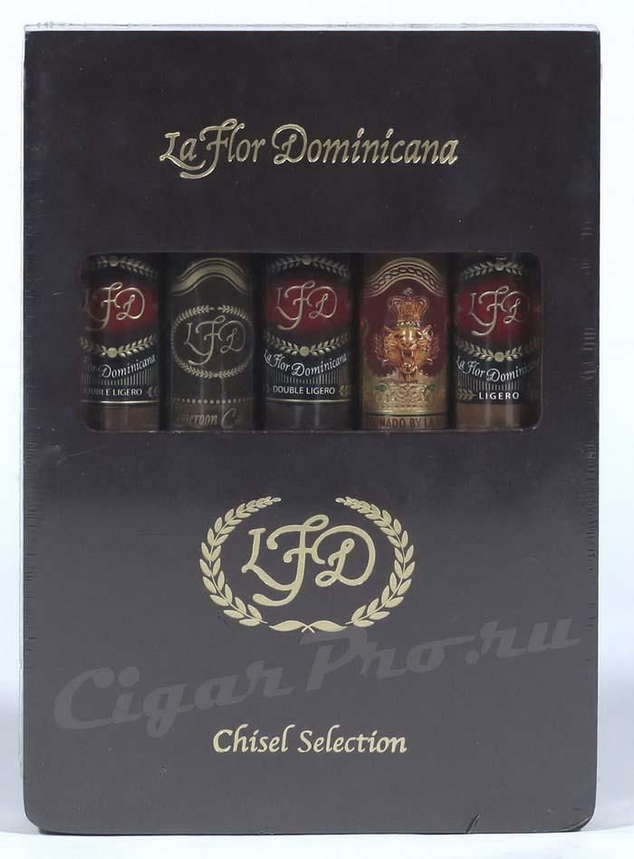 Набор Ла Флор Доминикана Дабл Лигеро Семплер Чисел Набор La Flor Dominicana Chisel Selection