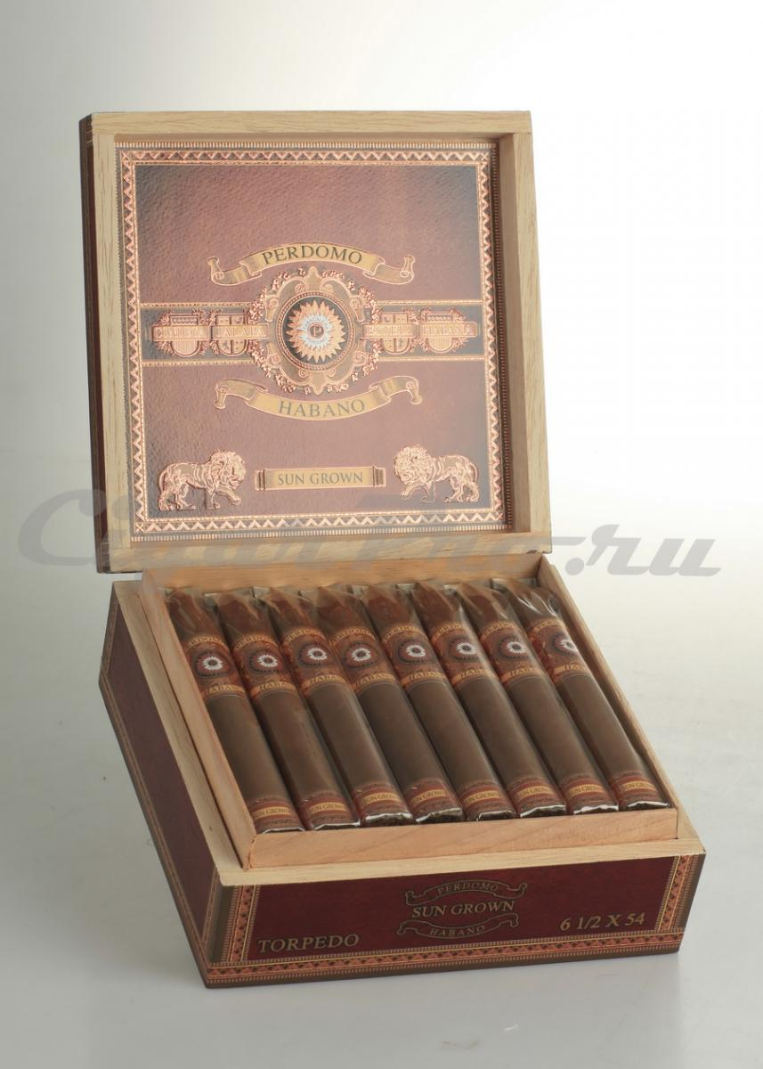 Perdomo Habano Bourbon Barrel Aged Sun Grown Torpedo