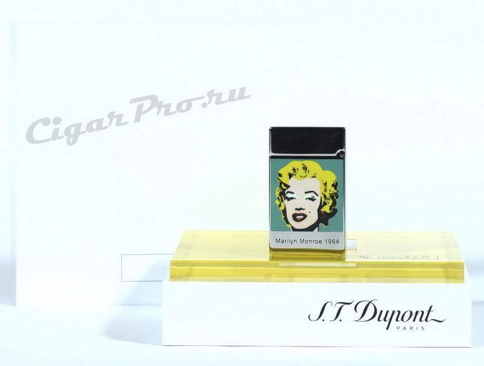 Зажигалка Dupont Marilyn Monroe 1964 Limited Edition