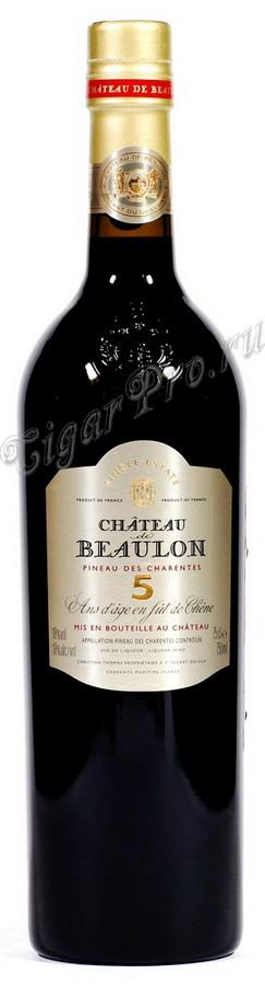 Pineau des Charentes 5 years Chateau de Beaulon Пино де Шаран 5 лет