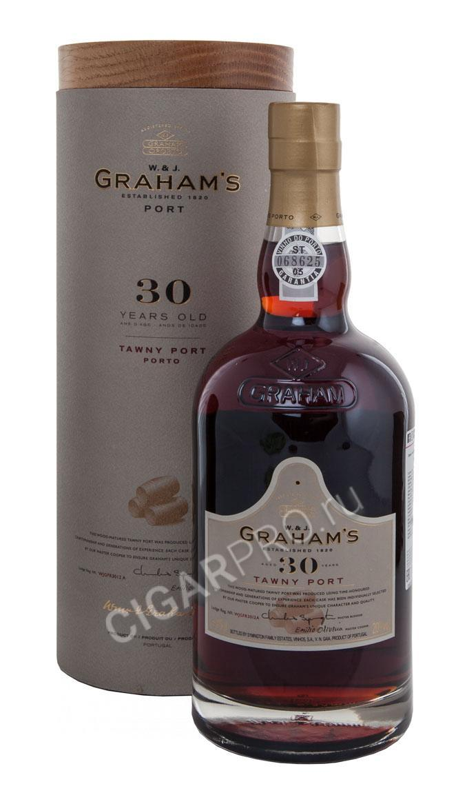 Grahams Tawny Port 30 years 4.5L купить портвейн Грэмс Тони Порт 30 лет 4.5Л
