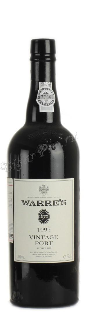 Warres Symington Vintage 1997 портвейн Уорс Симингтон Винтаж 1997