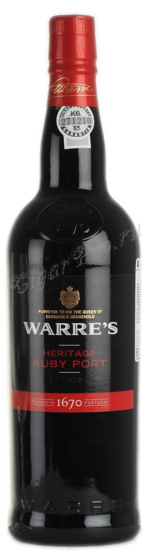 Warres Heritage Ruby Port