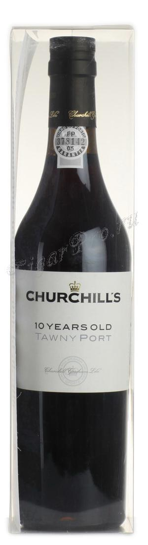 Churchills Tawny Port 10 years купить Портвейн Черчилльс Тони Порт 10 лет цена