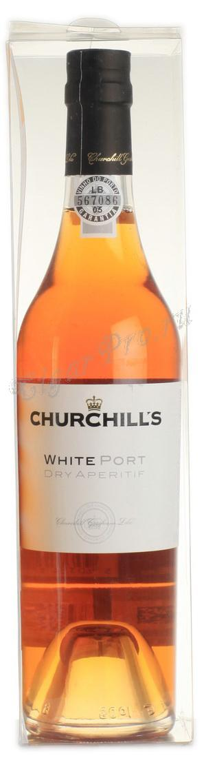 Churchills White Port Dry Aperitif купить портвейн Черчилльс Уайт Порт Драй Аперитив цена