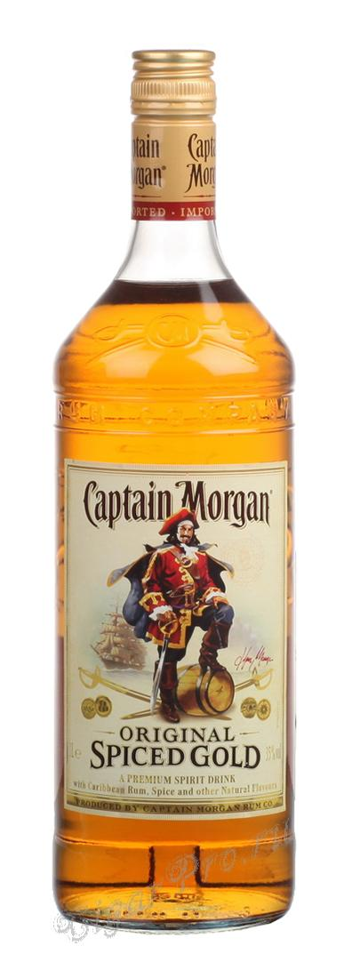Ром 1 литр Captain Morgan ром Капитан Морган 1 литр