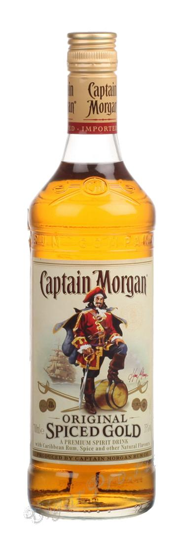 Ром Captain Morgan Spiced Gold ром Капитан Морган Спешиал Голд