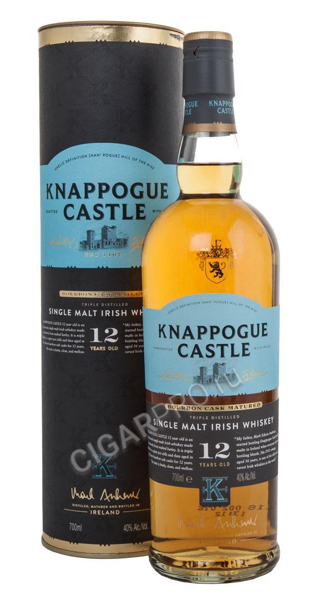 Knappogue Castle 12 years Виски Наппог Касл 12 лет