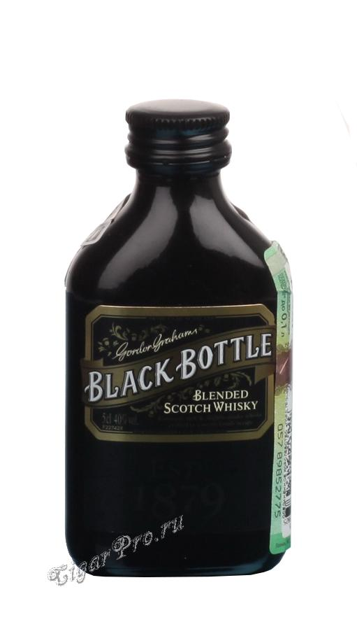 Шотландский виски Black Bottle 0.05l виски Блэк Боттл 0.05л