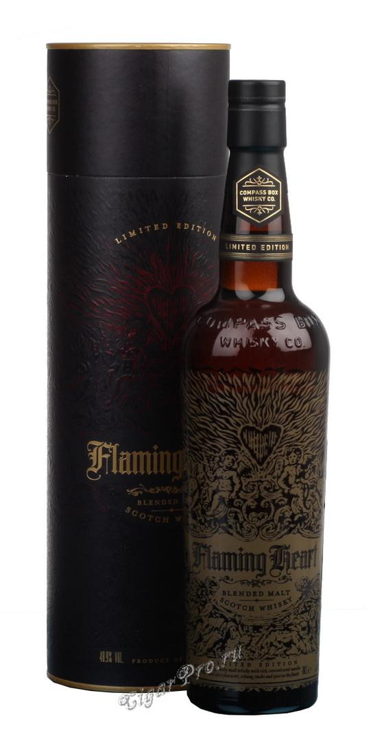 Flaming Heart 0,7l Виски Флейминг Харт 0,7 л в п/у