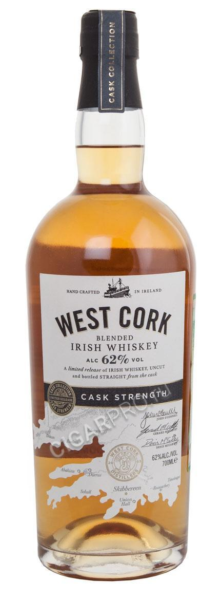 West Cork Cask Strength купить Виски Вест Корк Каск Стренф цена