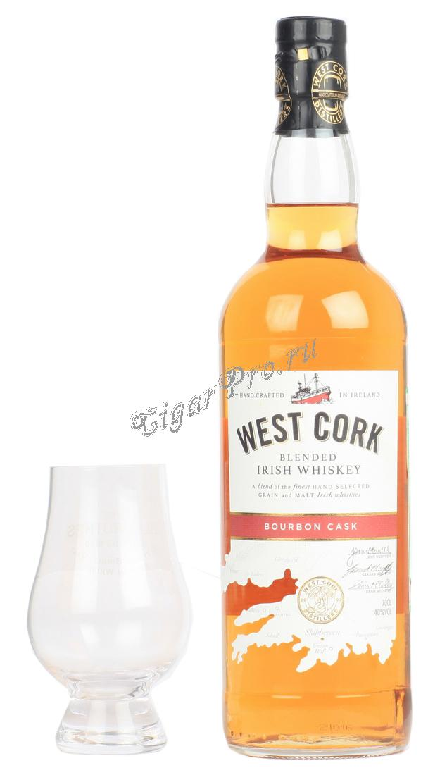 West Cork Bourbon Cask Виски Вест Корк Бурбон Каск