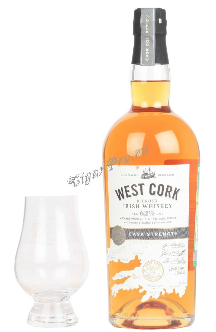 West Cork Cask Strength Виски Вест Корк Каск Стренф