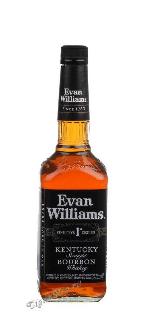 Американский виски Evan Williams Black Label виски Эван Вильямс Блэк Лейбл