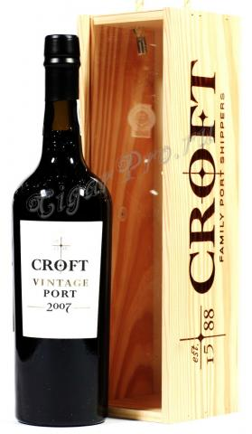 Портвейн Croft Vintage Port 2007 портвейн Крофт Винтаж Порт 2007
