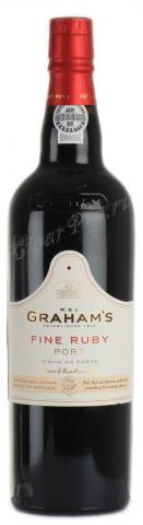 портвейн Grahams Fine Ruby Port портвейн Грэмс Файн Руби