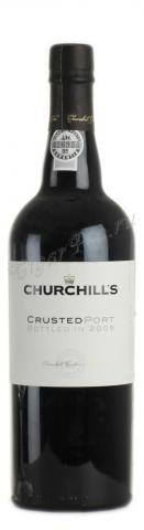 Churchills Crusted Port 2005 портвейн Черчилльс Крастед Порт 2005