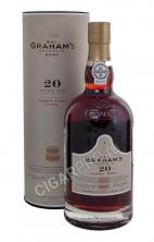 Grahams Tawny Port 20 years Port купить портвейн Грэмс Тони Порт 20 лет