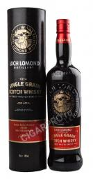 Loch Lomond Single Grain 0.7l in Tube виски Лох Ломонд Сингл Грэйн 0.7 л. в тубе