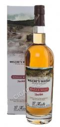Welche`s Distillery G.Miclo Single Malt Tourbe 0.7l Gift Box виски Велшес Дистеллери Ж.Микло Сингл Молт Турбе 0.7 л.в п/у