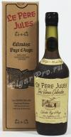 Le Pere Jules Tres Vieux Pays d`Auge Reserve 40 years кальвадос Ле Пэр Жюль Тре Вье Пэи д`Ож Резерв 40 лет