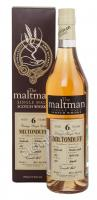 The Maltman Miltonduff 6 Years Old gift box Виски Молтмэн Милтондаф 6 лет